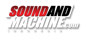 sound and mechine logo
