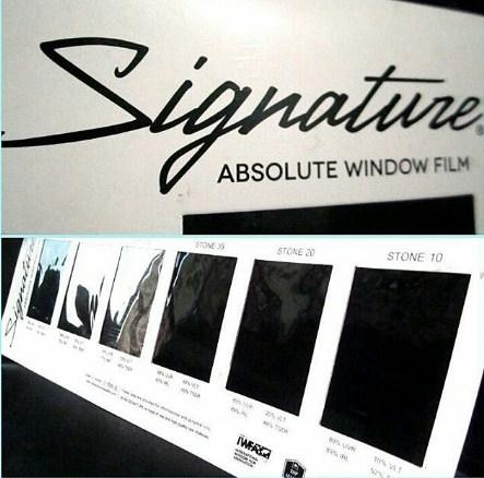 Harga kaca film SIGNATURE terbaru